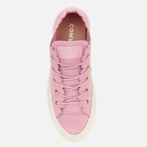 NEW Converse Rose Pink Scalloped Ox Chucks